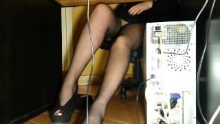getlinkyoutube.com-Mia moglie e la scrivania