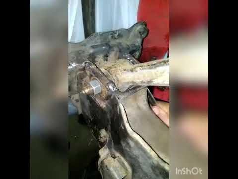 Honda accord 6 -Передние нижние рычаги - делаем развальными
