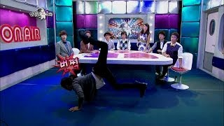 getlinkyoutube.com-【TVPP】L(INFINITE) - Show Scorpion Dance, 엘(인피니트) - 전갈 춤 시범 @ Radio Star