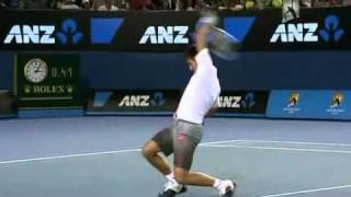 getlinkyoutube.com-Hilarious point between Nadal,Federer and Novak !