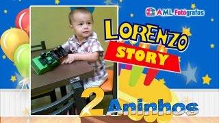 Retrospectiva Infantil Toy Story - Lorenzo 2 Aninhos