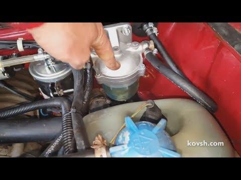 Тюнинг топливной системы Volkswagen T3 1.6D