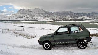Fiat Panda 4x4 Sisley Show + Camera Car