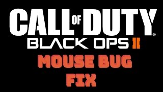 getlinkyoutube.com-How To Fix Black Ops 2 Mouse Input Lag / Acceleration Problems
