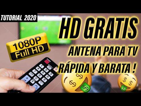 ✔ Cómo hacer ANTENA CASERA HD TV Digital | Tutorial muy fácil !