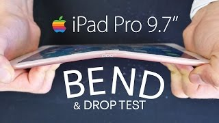 """iPad Pro 9.7"""" Drop Test & Bend Test!"""