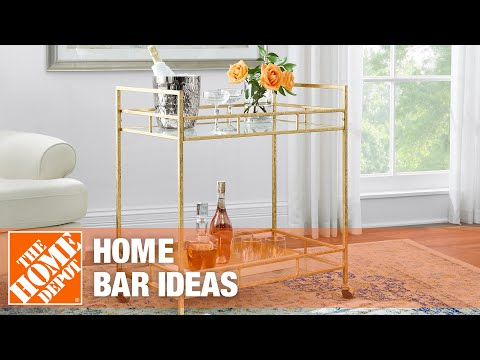 Home bar ideas.