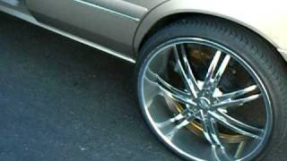 buick on 26s