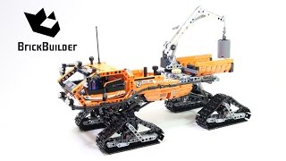 getlinkyoutube.com-Lego Technic 42038 Arctic Truck - Lego Speed build