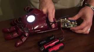 getlinkyoutube.com-Iron Man Repulsor Version 1.0 Prototype Demo