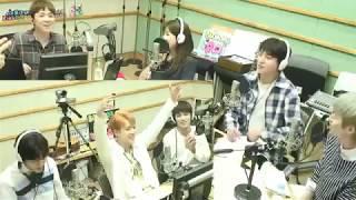 [ENG] 170623 Lee Hongki's Kiss The Radio with DAY6 & Lee Si-eun