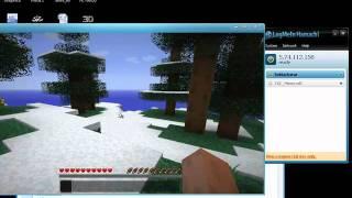 getlinkyoutube.com-Minecraft วิธีเล่นผ่าน Hamachi 100%