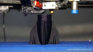 getlinkyoutube.com-Minifab 3D impresion rapida de 15cm a 1cm por minuto tiempo real