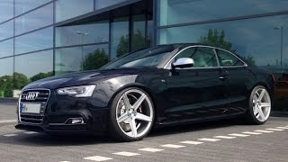 getlinkyoutube.com-Audi S5 4.2 V8 Facelift Conversion with Bilstein Capristo mbDesign KV1