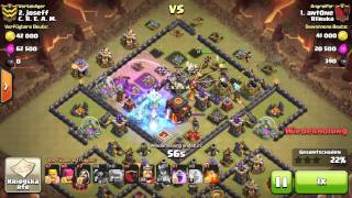 getlinkyoutube.com-Clash of Clans - TH10 Epic War Base 275 Walls - with replay