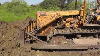 getlinkyoutube.com-CAT D6 Pushing Dirt