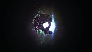 getlinkyoutube.com-Skull Splatter Wallpaper- Photoshop Tutorial