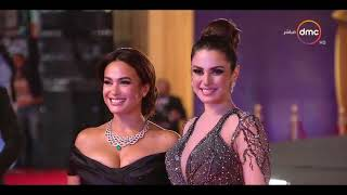 مهرجان القاهرة السينمائي   إطلالات مميزة من الفنانات على الريد كاربت ... من الأجمل؟