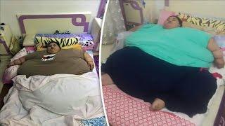 getlinkyoutube.com-أسمن امرأة في العالم - مصرية تزن نصف طن !