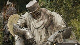 getlinkyoutube.com-【DARK SOULS II】ハイデの騎士(直剣) パリィ・倒し方 - Heide Knight(Sword)【モンスター攻略実況解説Part2】