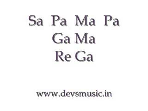 Basic Sargam 3 Hindustani Classical Vocals www.devsmusic.in Devs Music Academy