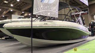 getlinkyoutube.com-2016 Tahoe 400 TS Motor Boat - Walkaround - 2016 Montreal Boat Show