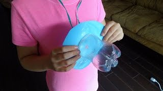 getlinkyoutube.com-Recycled Crafts Ideas: Giant Baby Dummy from Plastic Soda Bottles