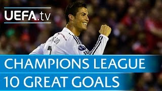getlinkyoutube.com-10 great goals from the 2014/15 UEFA Champions League
