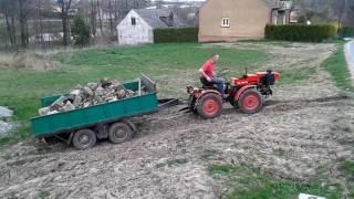 getlinkyoutube.com-Traktorek Tz4k14 Ciężki wyjazd