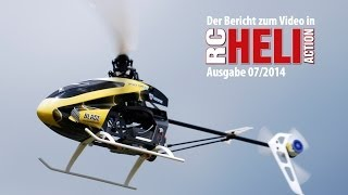 getlinkyoutube.com-RC-Heli-Action: Blade 200 SR X von Horizon Hobby