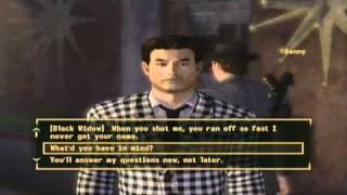 getlinkyoutube.com-Fallout: New Vegas - All Of Benny's Outcomes
