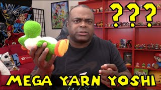 getlinkyoutube.com-What does the MEGA YARN YOSHI AMIIBO Do?