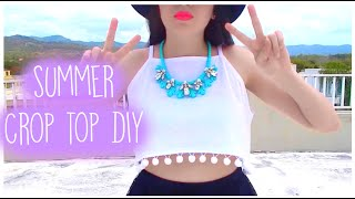 Summer Crop Top DIY(Sub. Spanish)