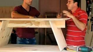 getlinkyoutube.com-BUILDERS: DIY Coffee Table (15.5.2013)