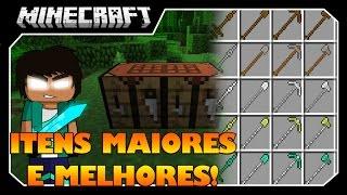 getlinkyoutube.com-Minecraft - ITENS MAIORES E MELHORES!! Extended Workbench MOD!