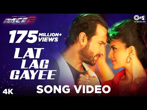 Lat Lag Gayee - Race 2 - Official Song Video - Saif Ali Khan & Jacqueline Fernandez