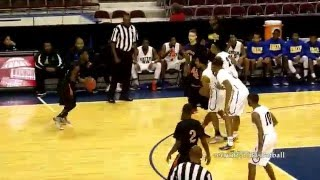 getlinkyoutube.com-Oscar Smith v Churchland recruit757/Basketball