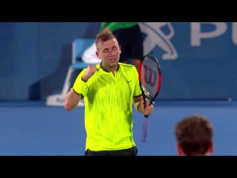 Evans v Kuznetsov Match Highlights (SF) | Apia International Sydney 2017