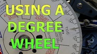 getlinkyoutube.com-Setting Up A Degree Wheel And Finding True Top Dead Center (TDC)