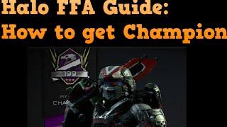 getlinkyoutube.com-Halo 5 FFA Guide: How to Get Champion