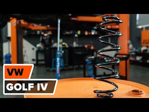 Как да сменим пружина на задното окачване на VW GOLF 4 [ИНСТРУКЦИЯ]