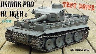 getlinkyoutube.com-Tiger 1 RC VsTank Pro 2.4ghz Test Drive