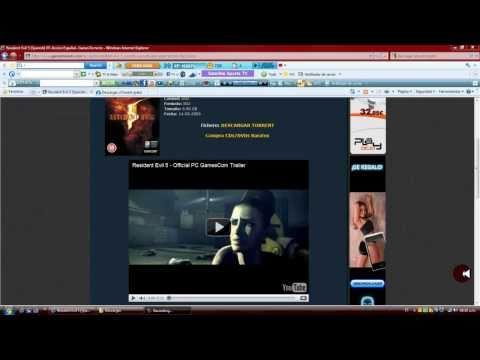 Descargar e Instalar Resident evil 5 Para pc 100% Funcional