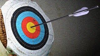 getlinkyoutube.com-Elaboración flecha para arco.artkeko.