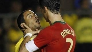 getlinkyoutube.com-Football Best Fights & Angry Moments - (C.Ronaldo, Messi, Neymar, Pepe, Diego Costa, Ibra & More )