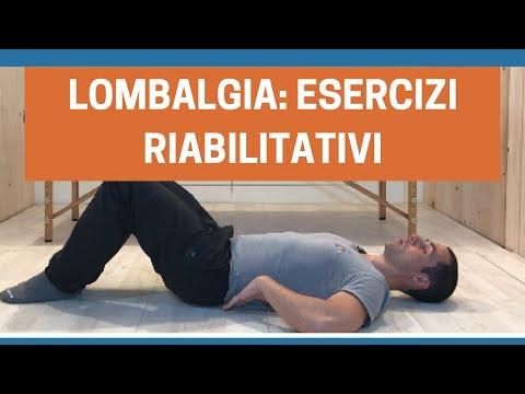 Protocollo esercizi per la colonna lombare