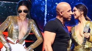 getlinkyoutube.com-Deepika Padukone Vin Diesel | Lungi Dance | Fan Interaction |  XXX Movie Promotion | 2017