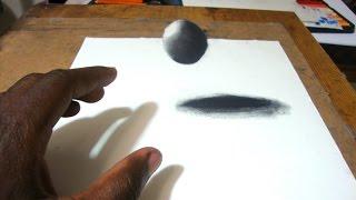 getlinkyoutube.com-Easy Way to Draw a 3D Floating Ball