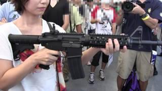 getlinkyoutube.com-東京マルイ M4A1 MWS GBB Airsoft