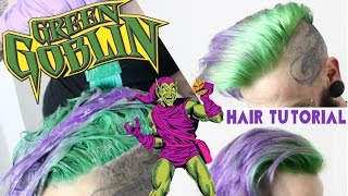 getlinkyoutube.com-GREEN GOBLIN HAIR TUTORIAL